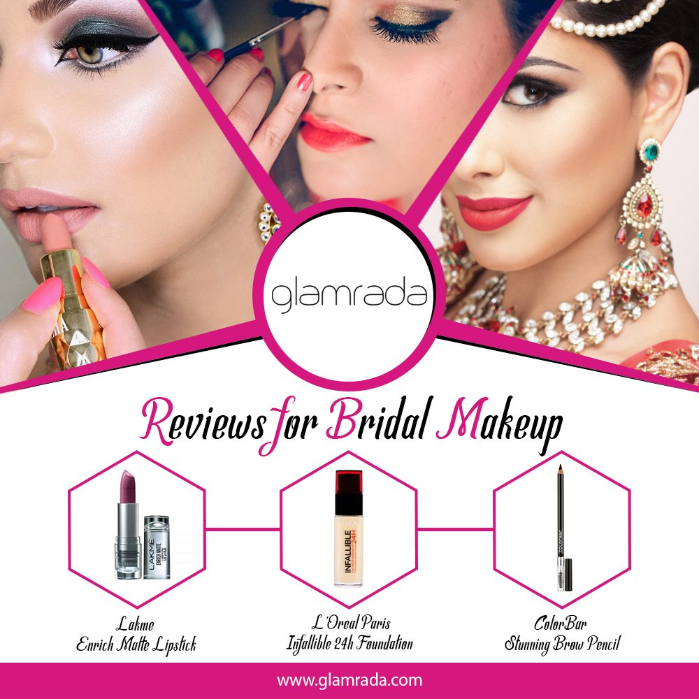 Perfect Bridal Makeup Reviews by Experts   Beauty Products Reviews