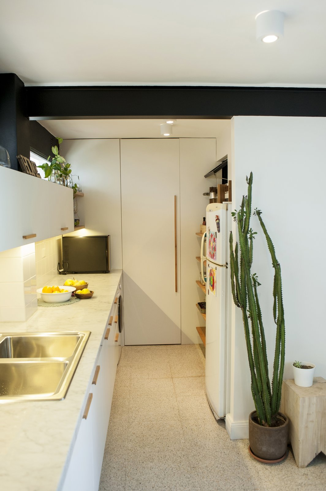 A door hides the boiler and the pantry  Artigas