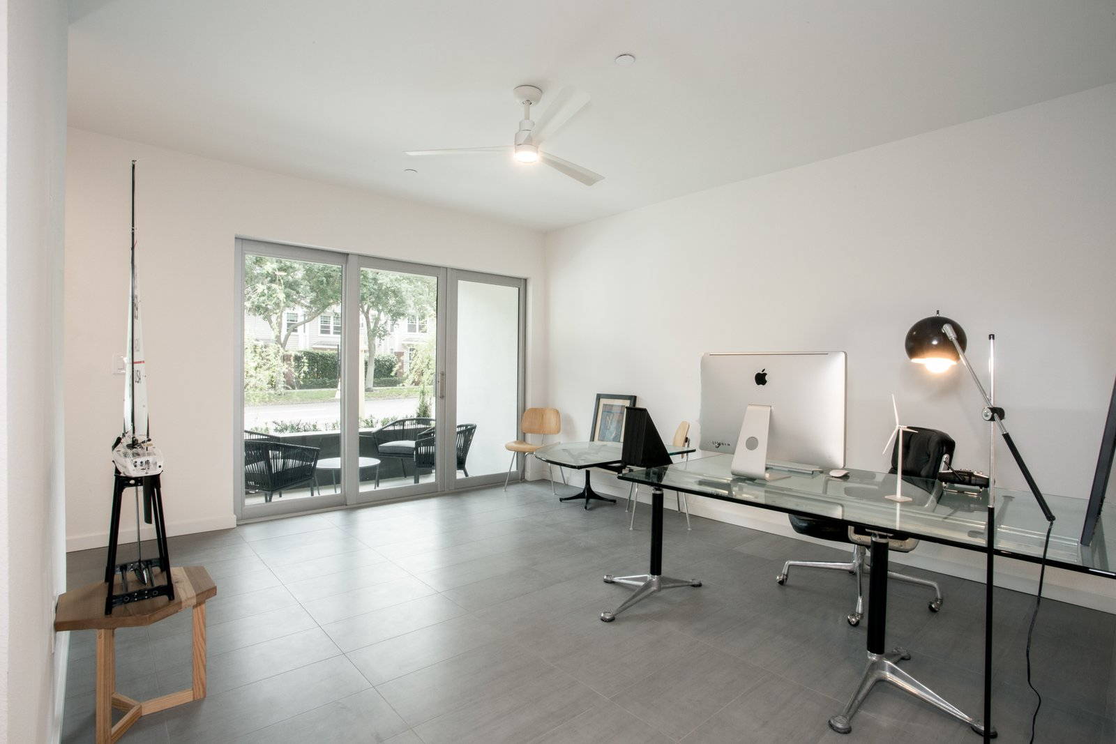 Home office and foyer.   LIV233 by Hudson Harr