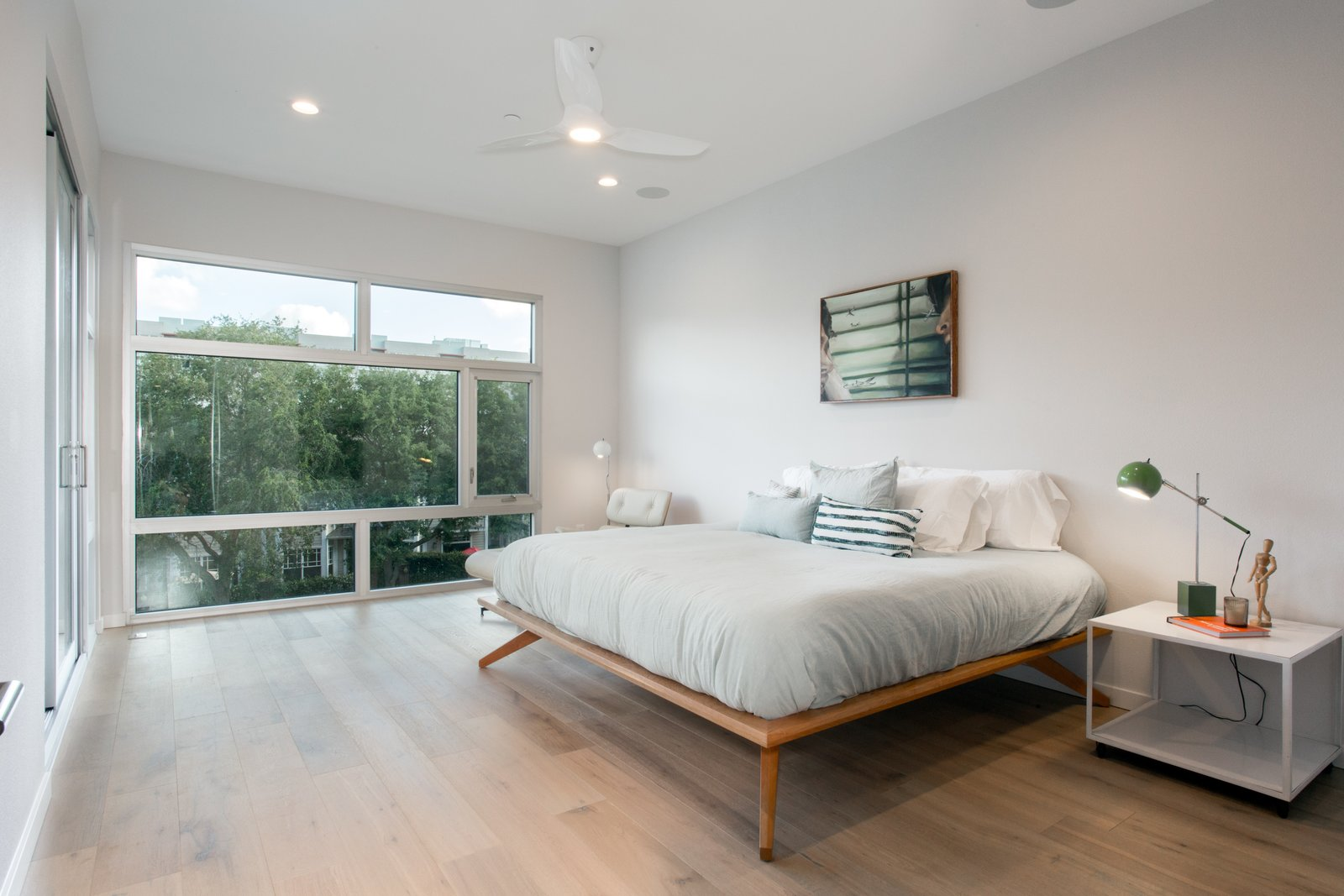 Master Bedroom in the Trees.  LIV233 by Hudson Harr