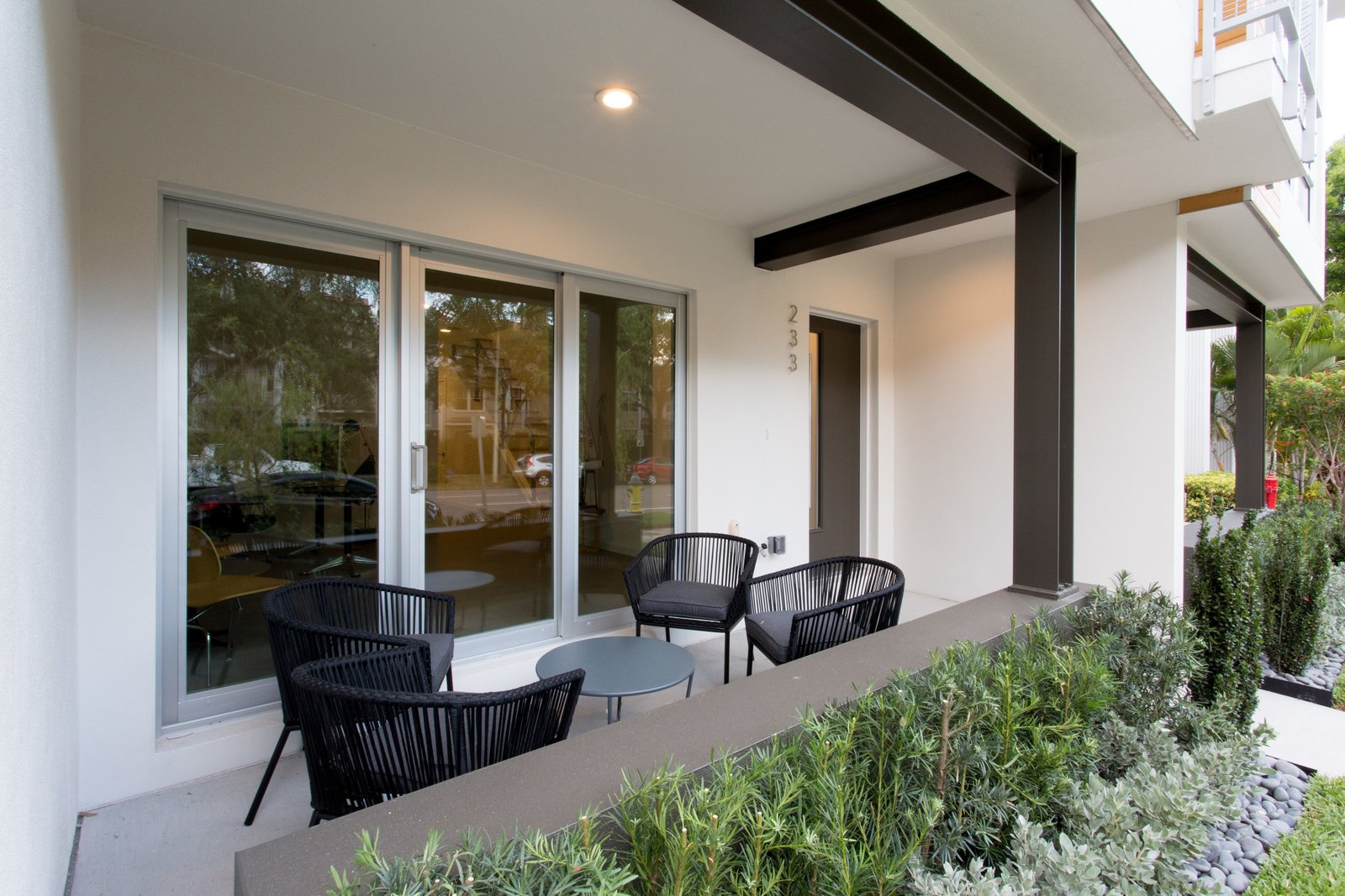 Front patio.   LIV233 by Hudson Harr