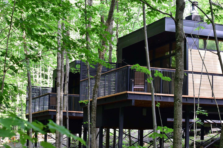 Summer Exterior Shot  SHAK Cottages