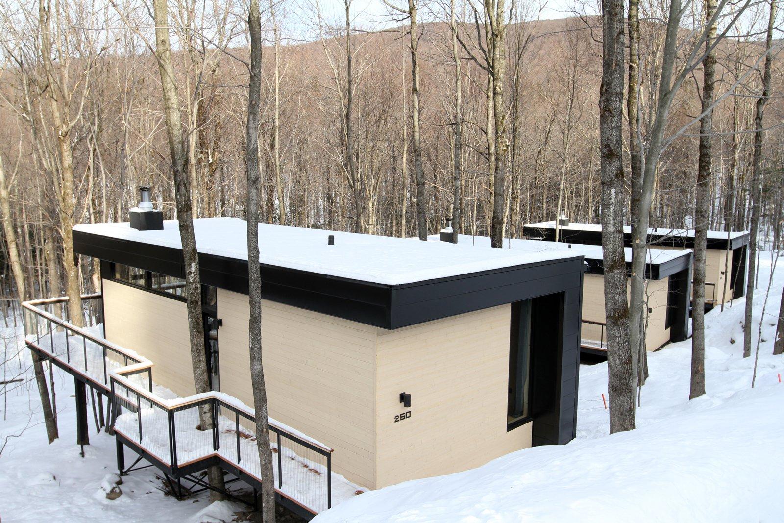 Winter Exterior Shot  SHAK Cottages