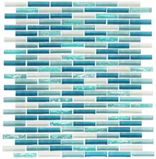 Susan Jablon offers an exquisite array of mini subway tiles to choose from, including this Turquoise Blue Mini Subway Glass Tile. These mosaic blends are a mix of glossy and textured mini subway tiles that are perfect for indoor or outdoor installation, including showers and pools/spas. Order a sample today! https://www.susanjablon.com/turquoise-blue-mini-subway-glass-tile-mosaic.html?fbclid=IwAR2Ieu-2hCcgdVNNFQfiiXKDlBxFtHz_rRyMWQ4DhFD22tVOKoM15wyYVAY