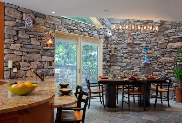 Artisan Kitchen for a Nature Loving Family