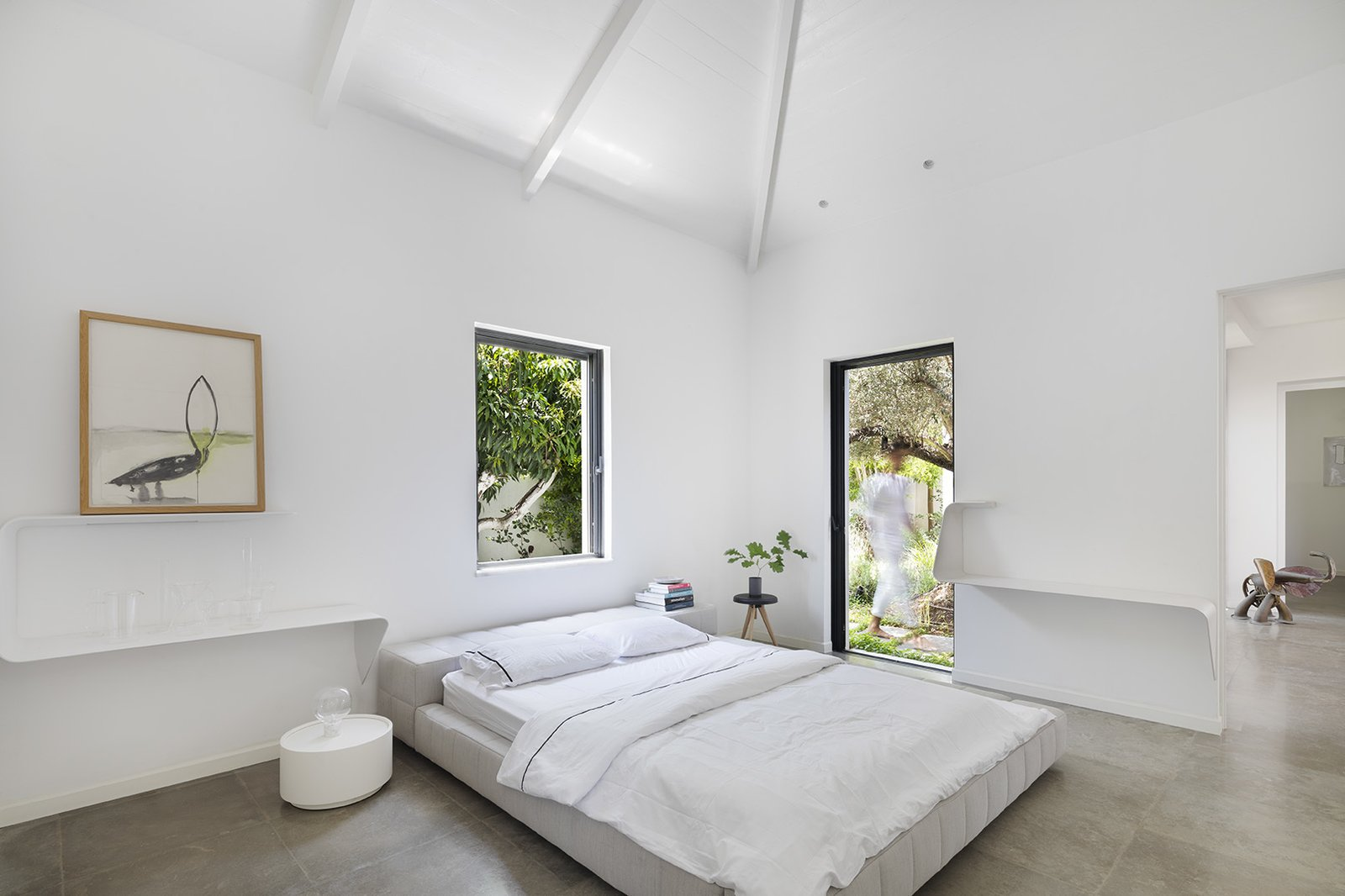 Modernist Farmhouse bedroom