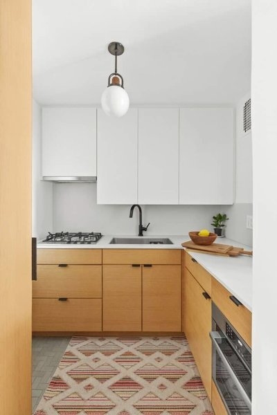 A 44 Square Foot Kitchen With Style And Storage To Spare Modern Home On Dwell