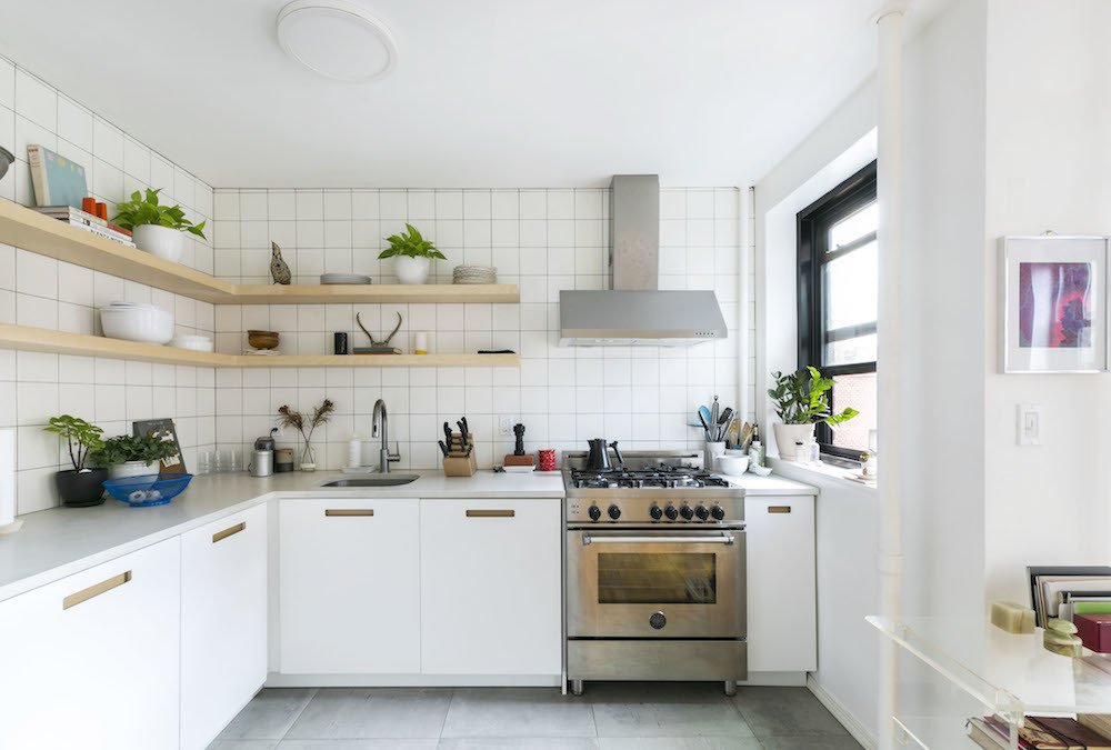 Scandinavian Meets Mid Century Kitchen