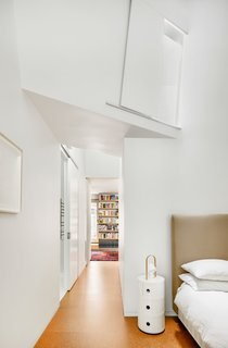 Bedroom to Library