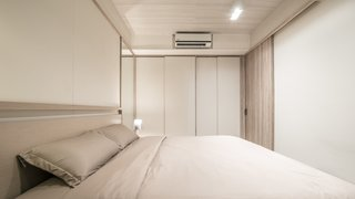 Wardrobe and storage with sliding panels