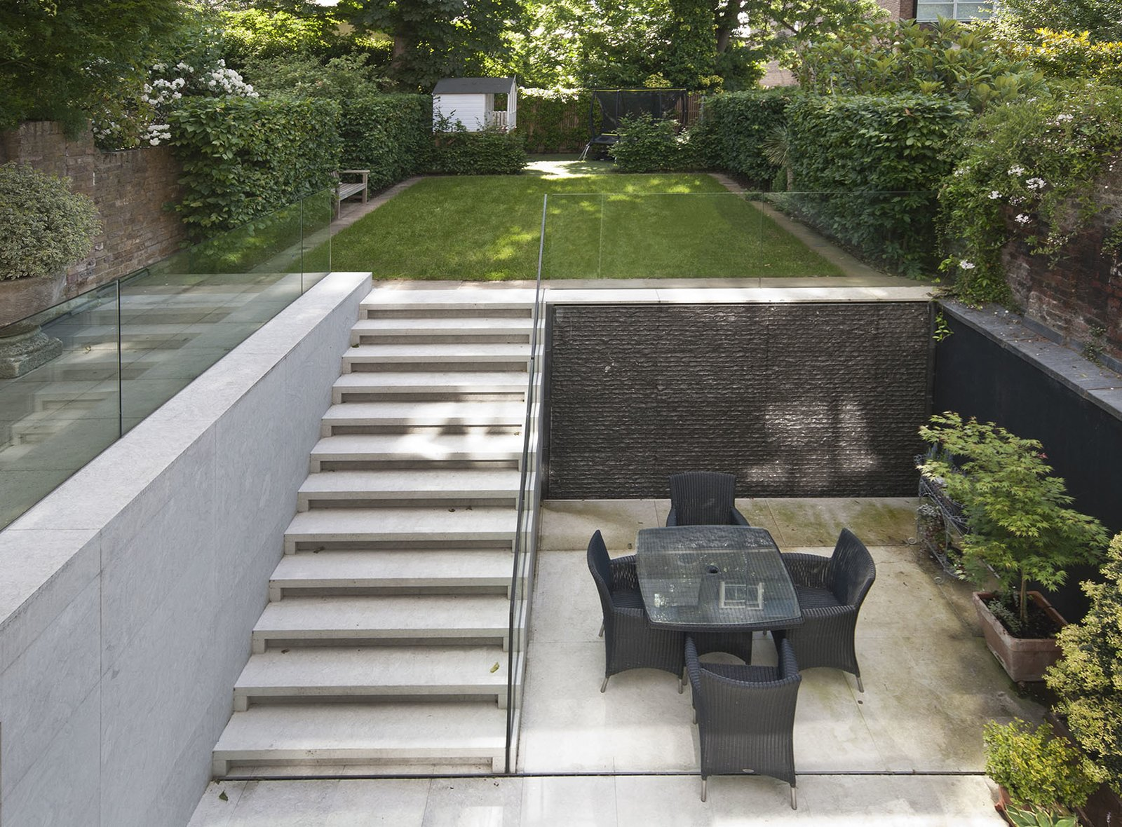 Outdoor and Garden Sunken Garden  Photos from Private Home Islington