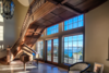 Grand Staircase - Foyer of Eagle's Nest Estate Photo  of Eagle's Nest Estate - San Juan Islands modern home