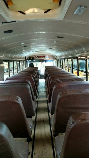 Photo 2 Of 13 In A Couple Convert An Old School Bus Into A