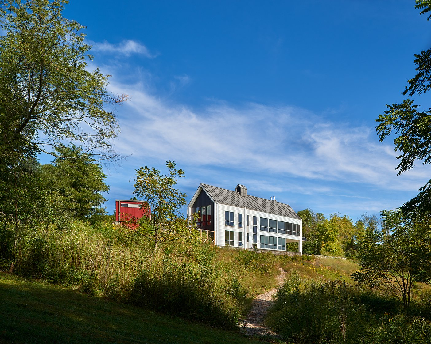 Modern Farmhouse wiedemann architects exterior