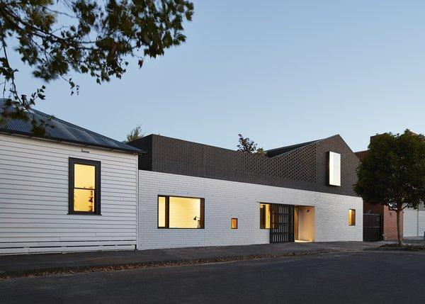 An Australian Home's Brick Addition Creates a Private Backyard Haven