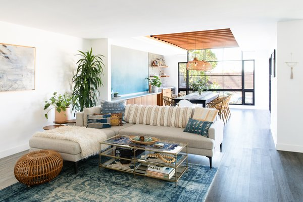Now The Living Area Flows Gracefully Into The Dining Room And Connects The  View To The