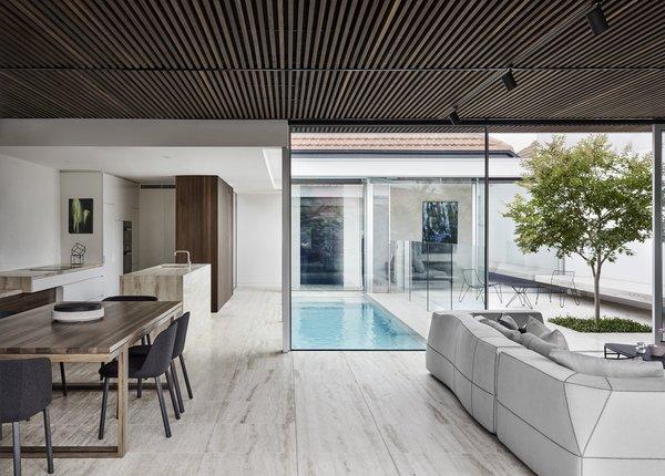 Best 5 Modern Dining Room Travertine Floors Design Photos And Ideas