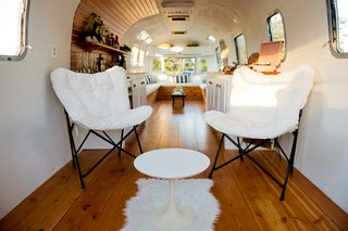 The back area of the 250-square-foot Stolen Pony Lounge is customizable to client needs.