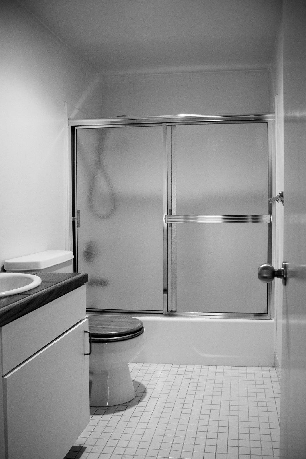 Mission Loft bathroom before