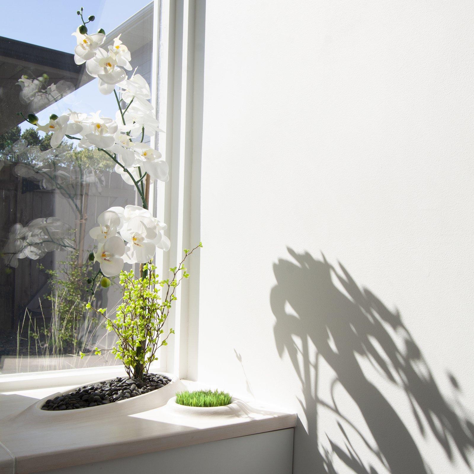integrated planter in Fish Scale Studio