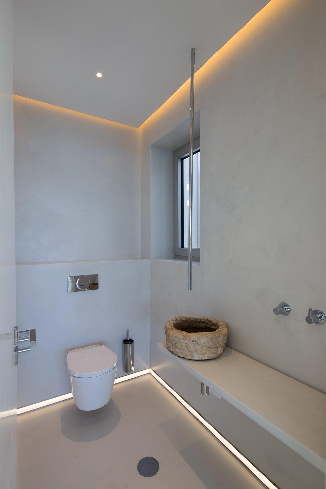 Villa GK bathroom with hanging faucet