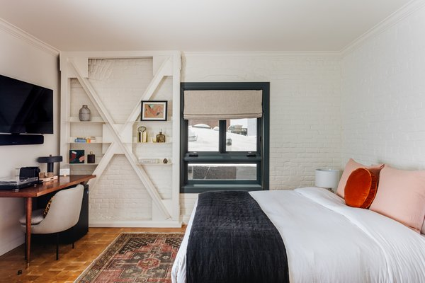 The boutique hotel has 11 rooms, each of which contains mattresses from 2920 Sleep and Parachute linens.