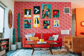 Immerse Yourself in Bright Color at This Midcentury Rental in Palm Springs