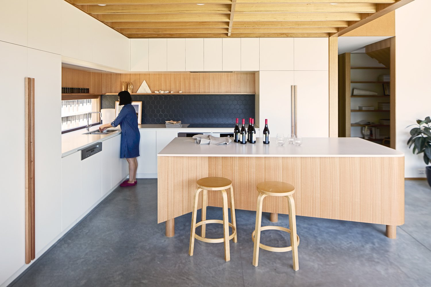Olaver Architecture Thornbury House Kitchen