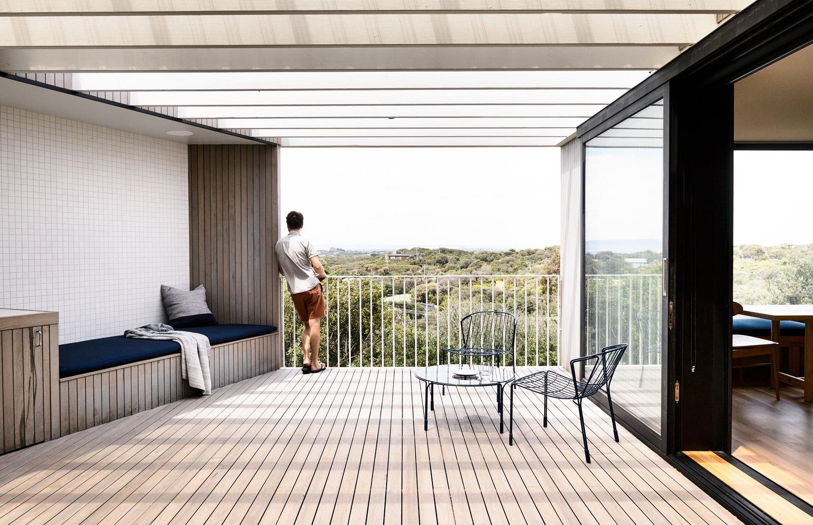 Sorrento House Figureground Architecture Deck