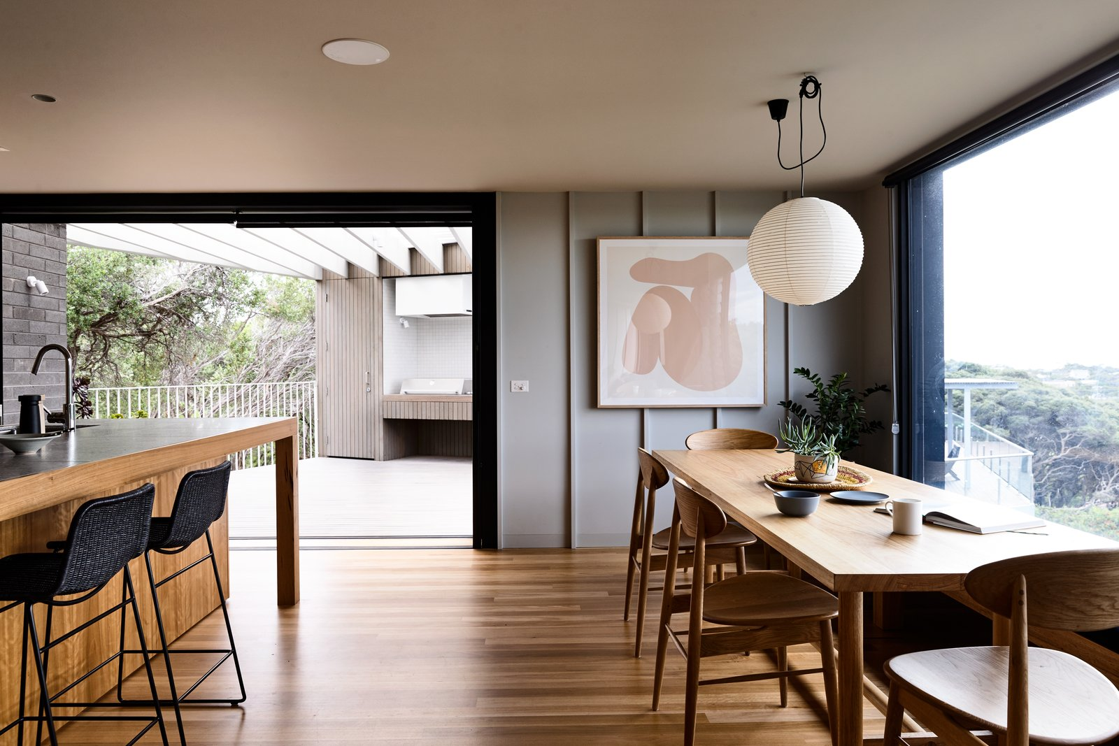 Sorrento House Figureground Architecture Kitchen Dining Room