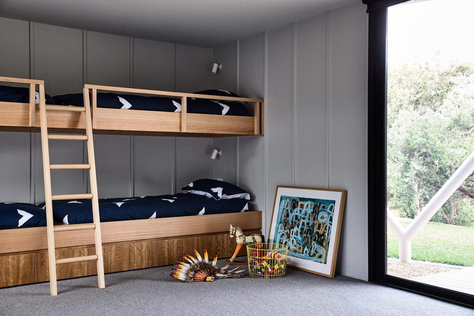 Sorrento House Figureground Architecture Rumpus Room