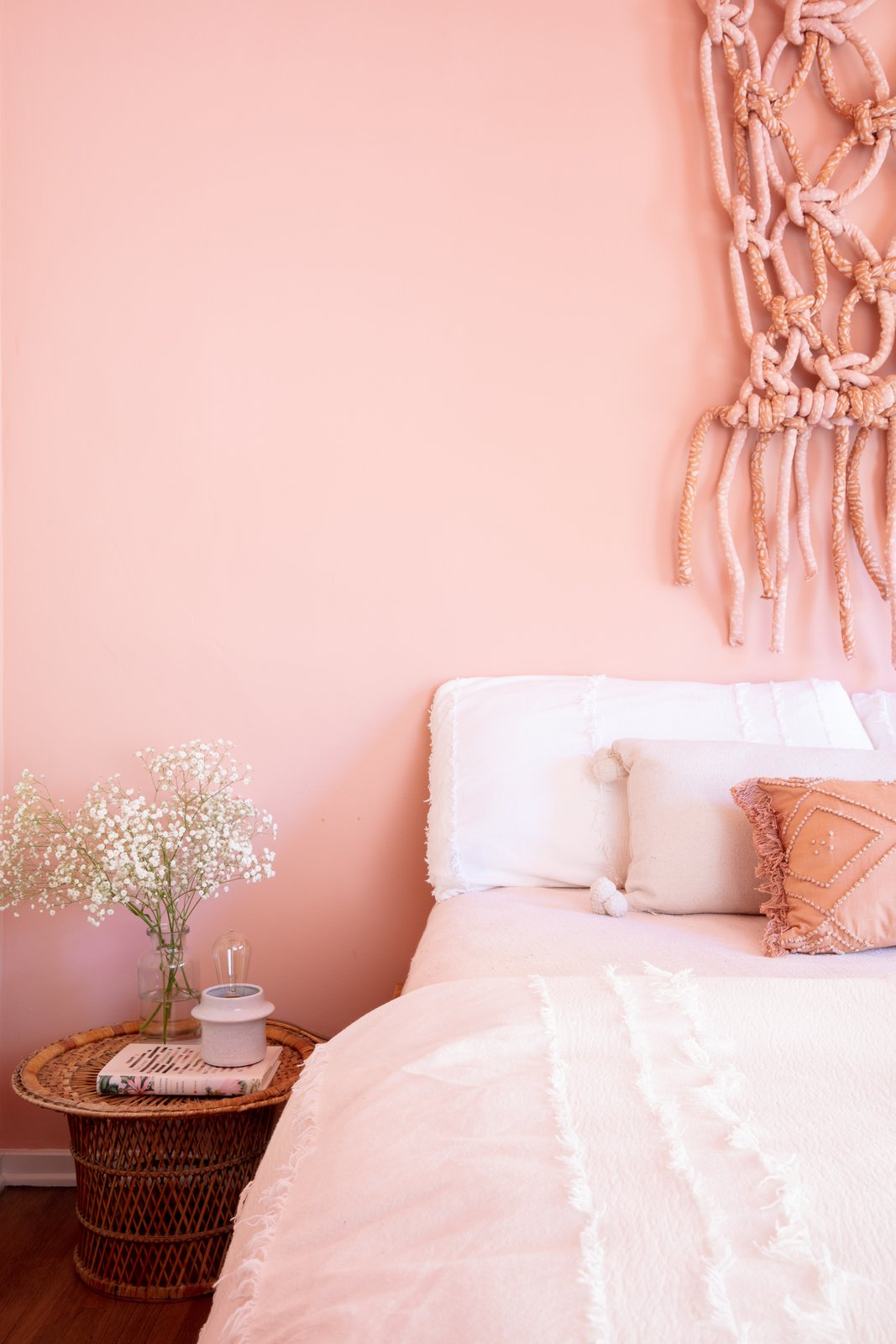 Cuffhome The Dell Pink Guest Room
