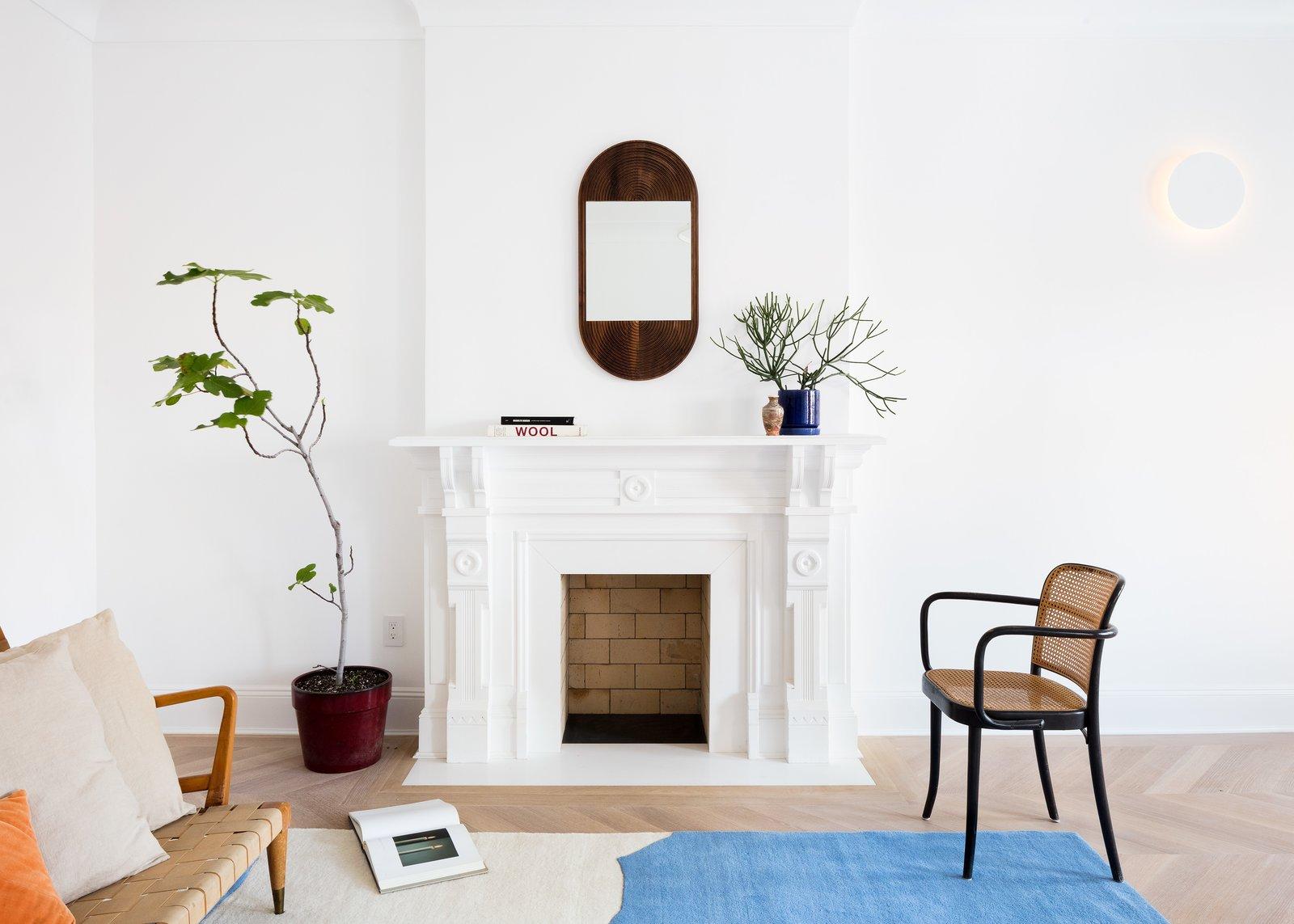 Prospect Heights Townhome Hatchet Design Build Living Room