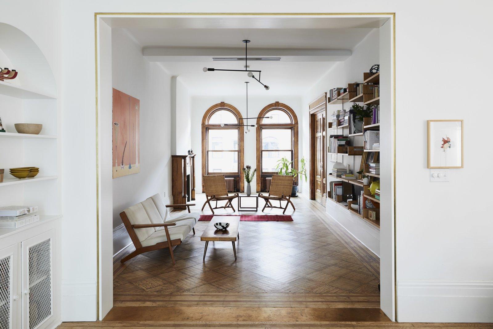 Prospect Lefferts Garden Townhouse GRT Architects Living Room