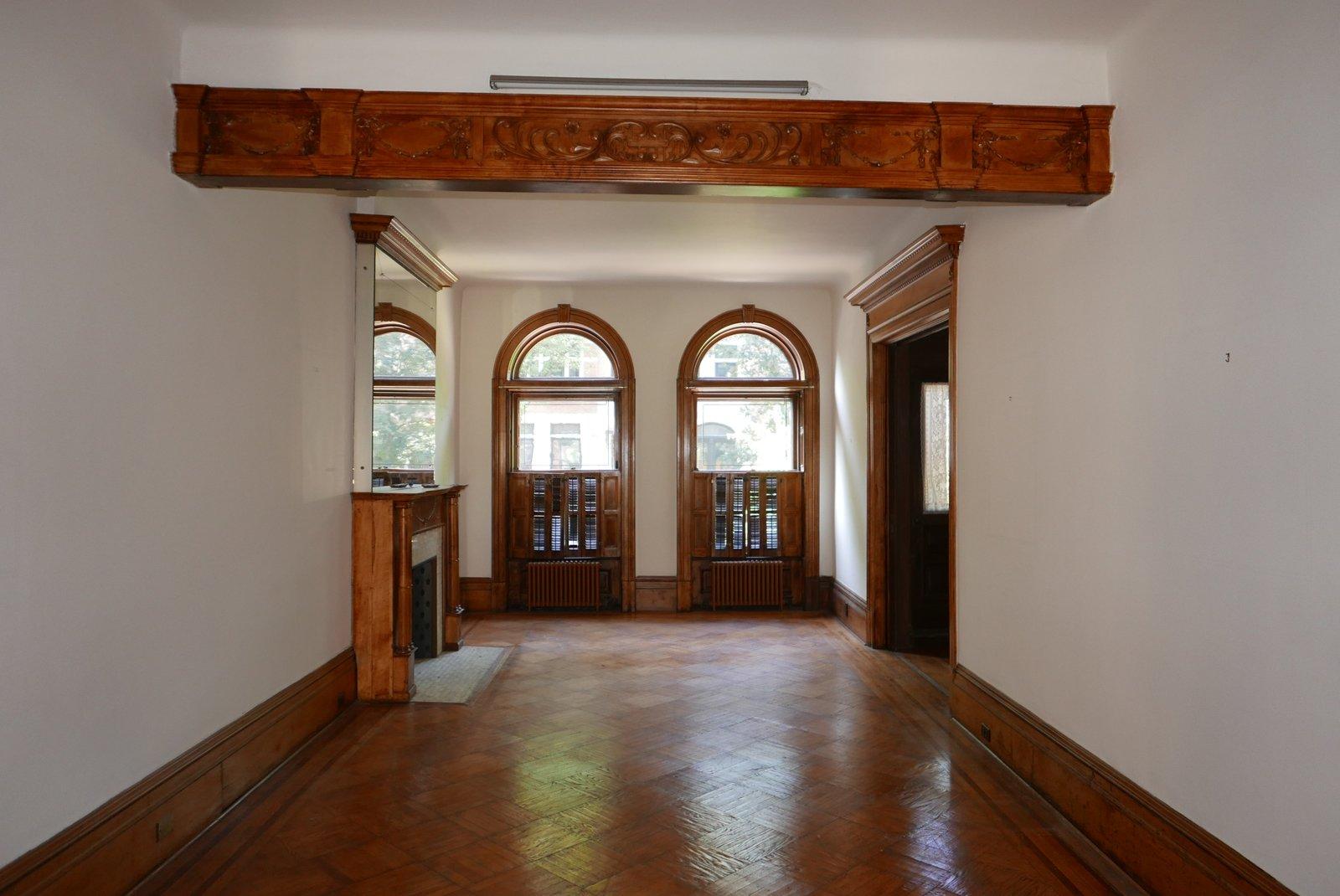 Prospect Lefferts Garden Townhouse GRT Architects Living Room Before