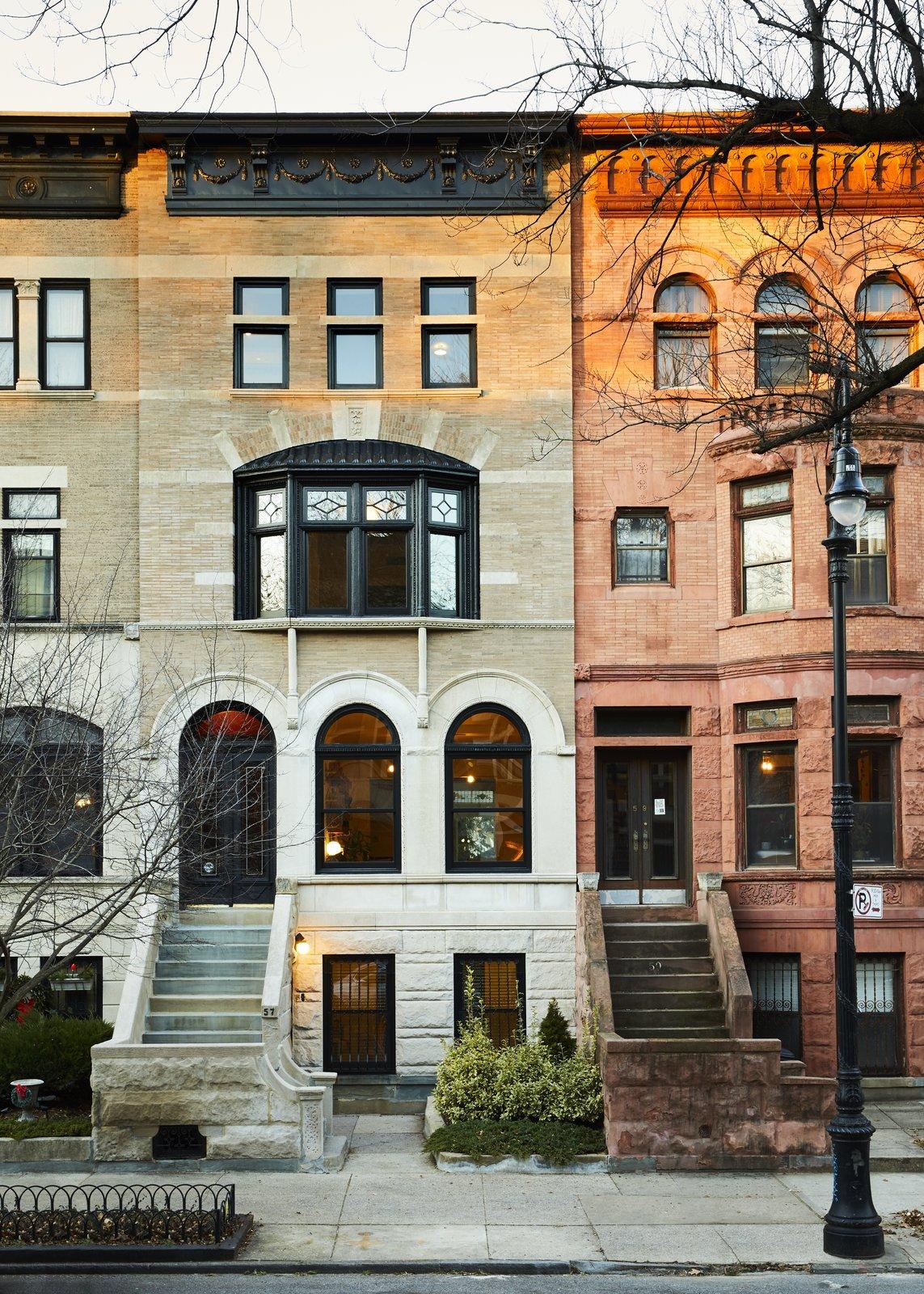 Prospect Lefferts Garden Townhouse GRT Architects Exterior
