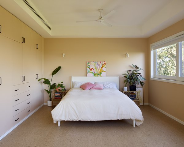 """It needed cosmetic love to bring back its former glory,"" the firm said of the home. ""It needed better lighting, some key furniture pieces, and better and stronger colors to offset the interiors in their lush green garden setting."" The bedrooms received new cork floors as well."
