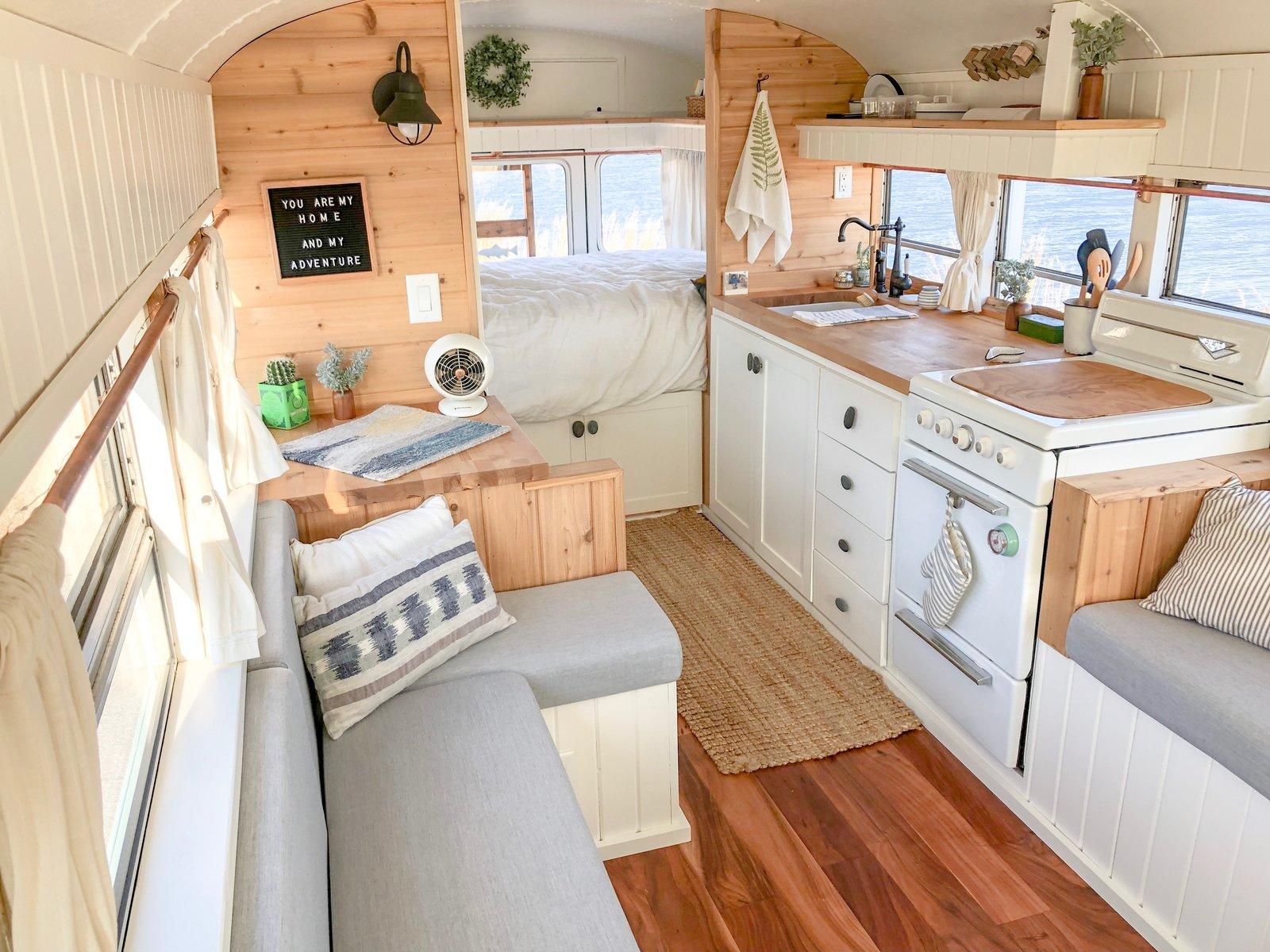 Fern the Bus Kitchen