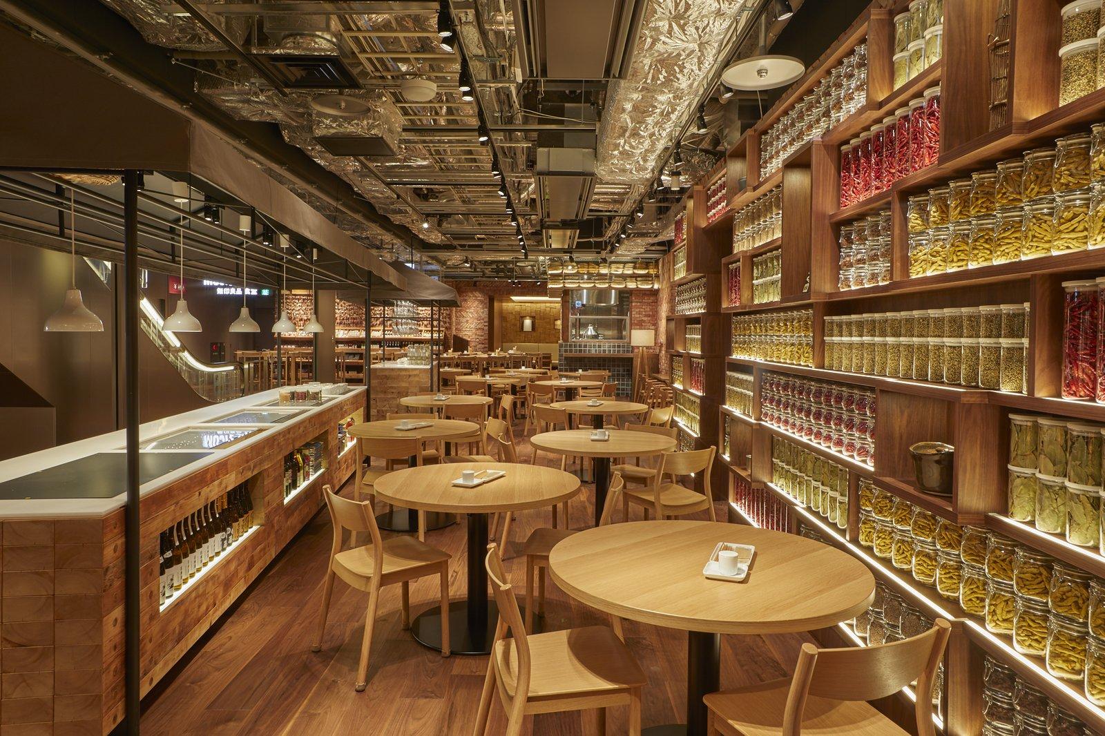Muji Hotel Diner in Ginza