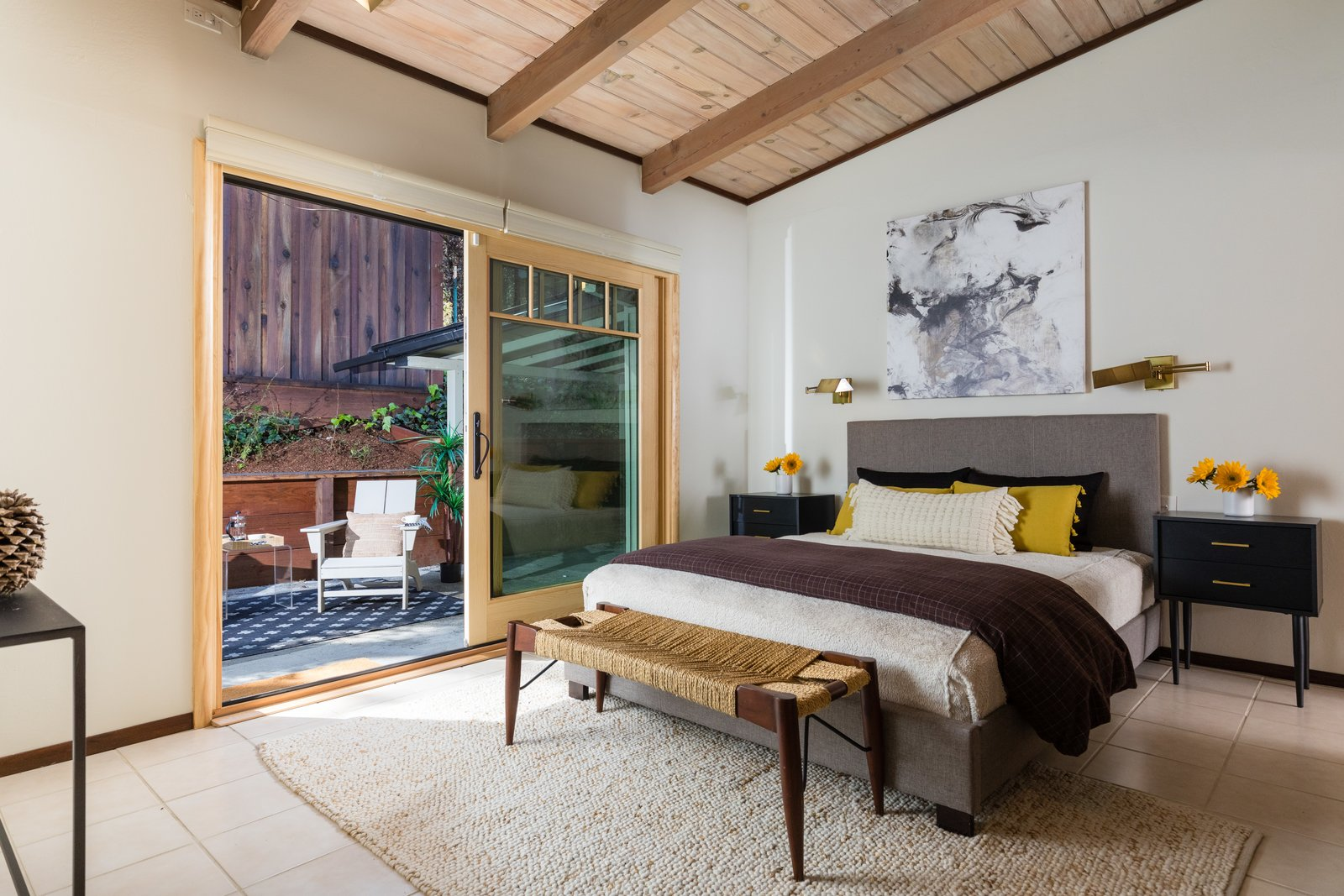 Orinda Midcentury Bedroom