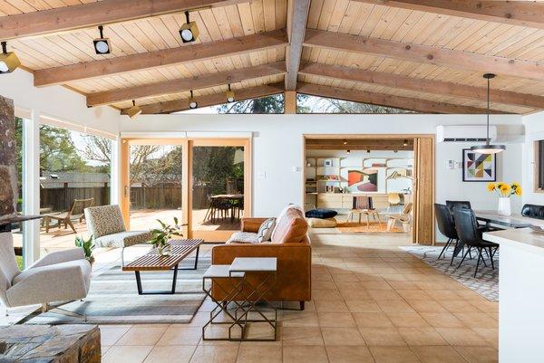 Sliding Glass Doors Enable Easy Indoor/outdoor Circulation.