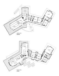 Cheng-Reinganum House floor plans