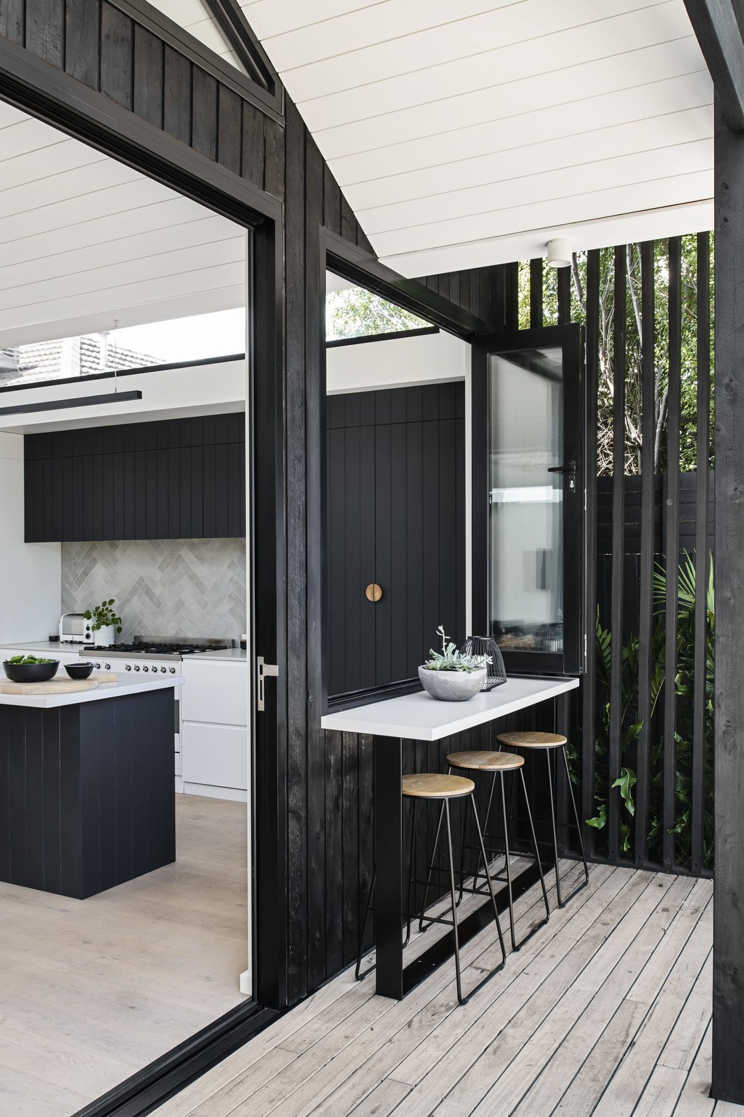 Pleated House Megowan Architectural Outdoor Window