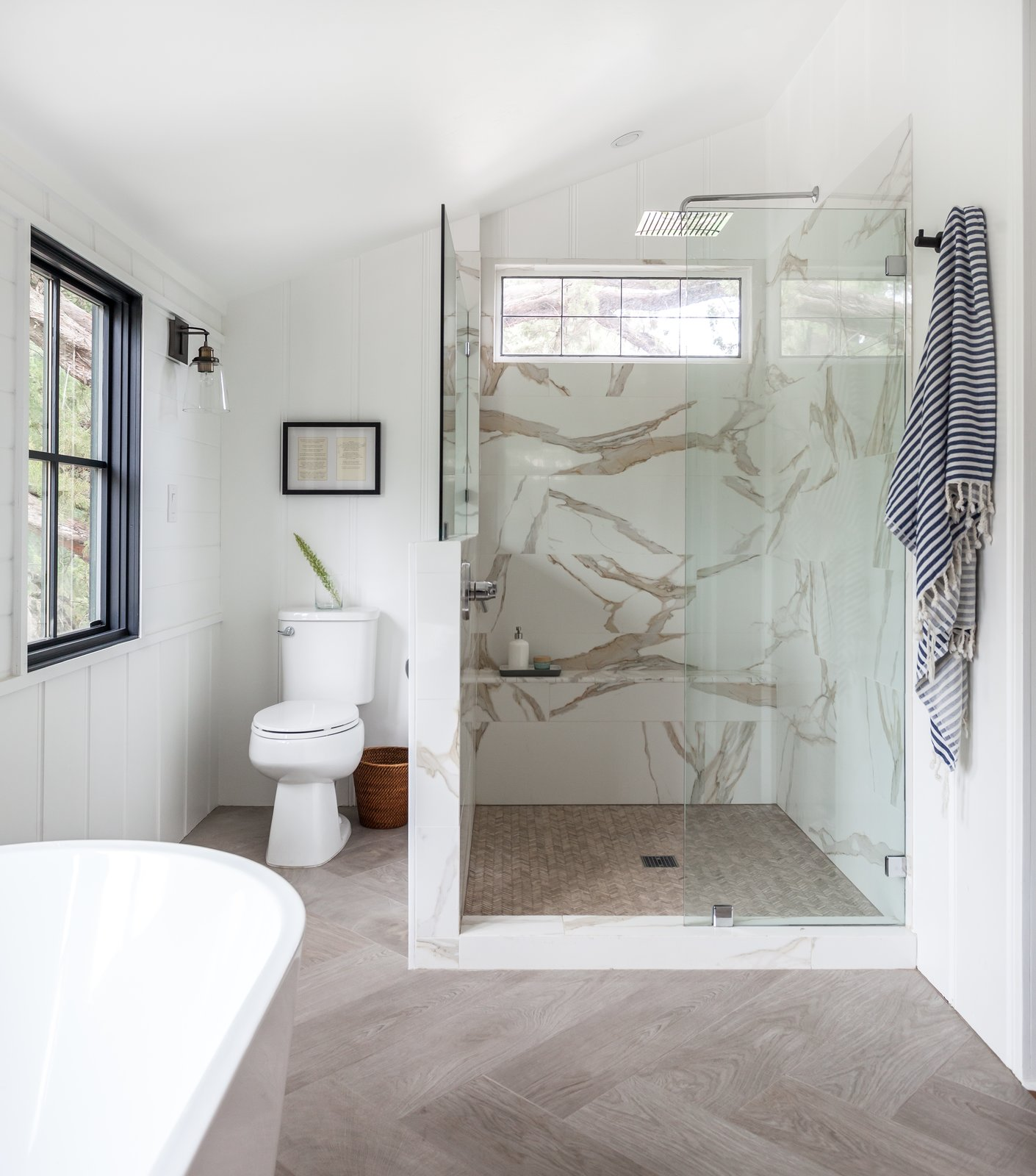 Spanish Revival by Colossus Mfg Master Bathroom