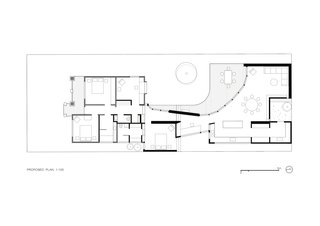 Down to Earth House floor plan