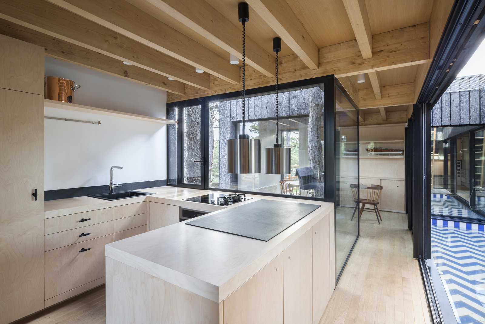 Treehouse by Atelier Victoria Migliore Kitchen