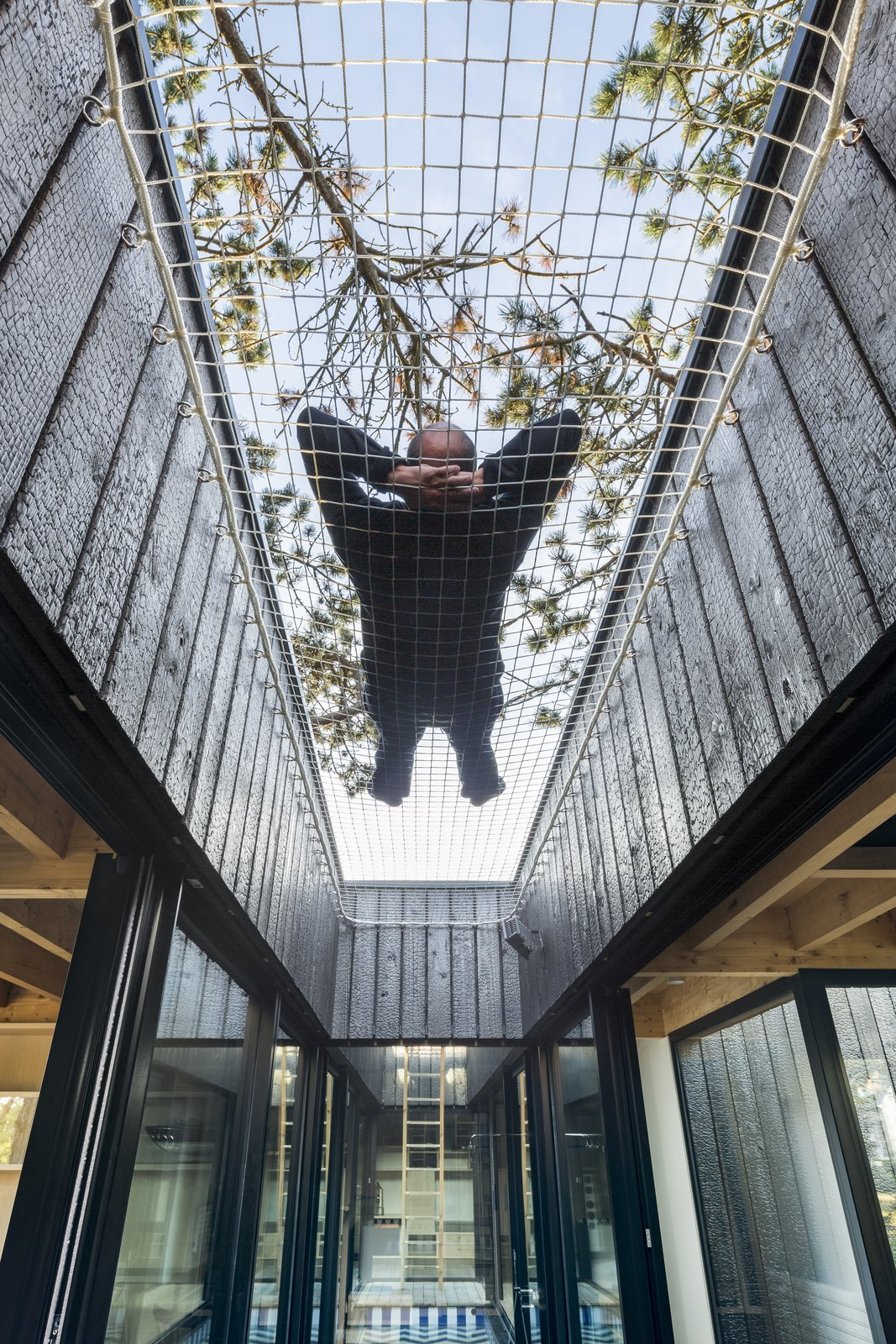 Treehouse by Atelier Victoria Migliore Stargazing Net