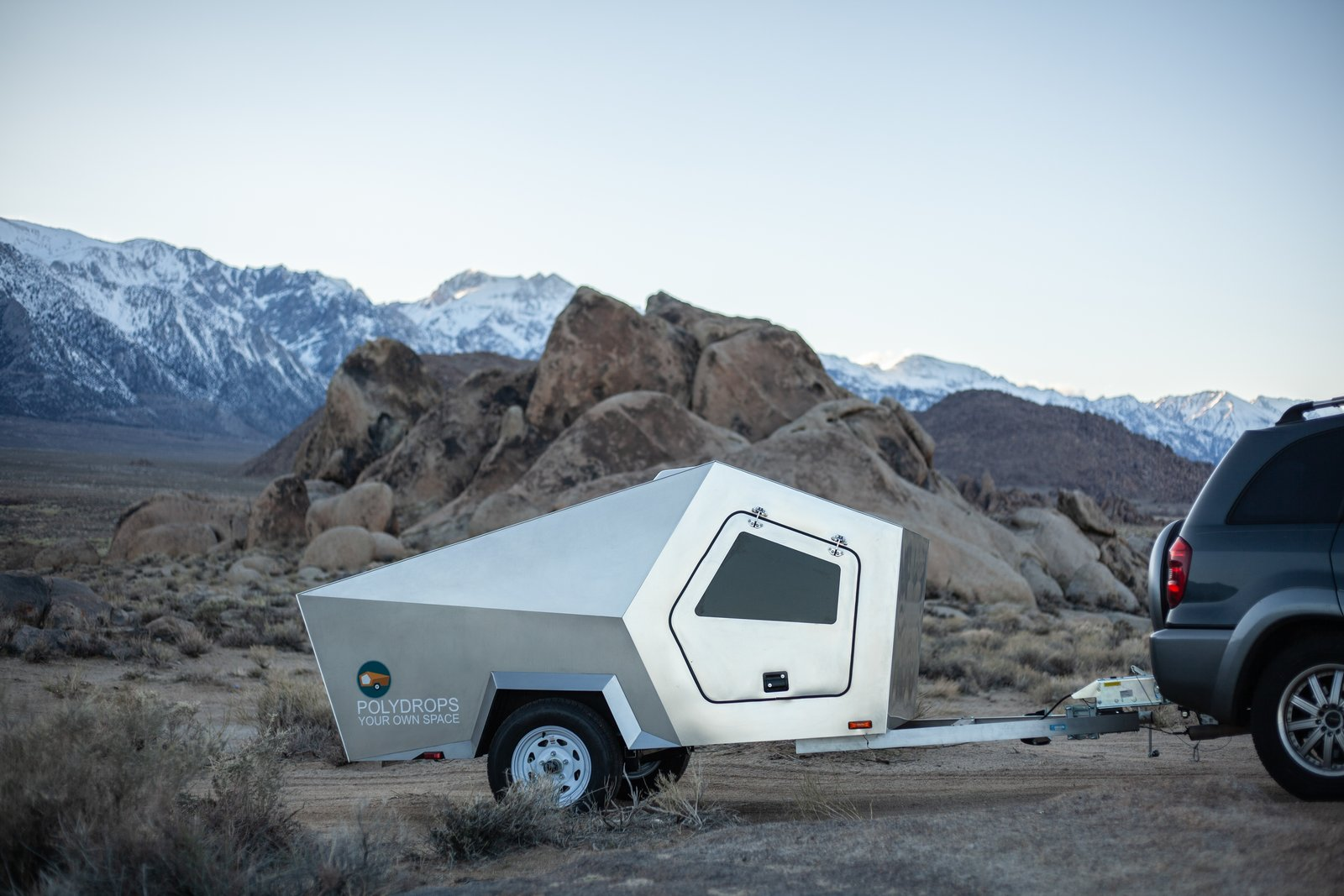 This Futuristic Teardrop Trailer Is Just $9K For the First 20 Owners