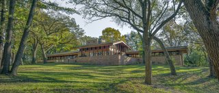 Before & After: Frank Lloyd Wright's Rarely Seen Fredrick House Is Deftly Restored