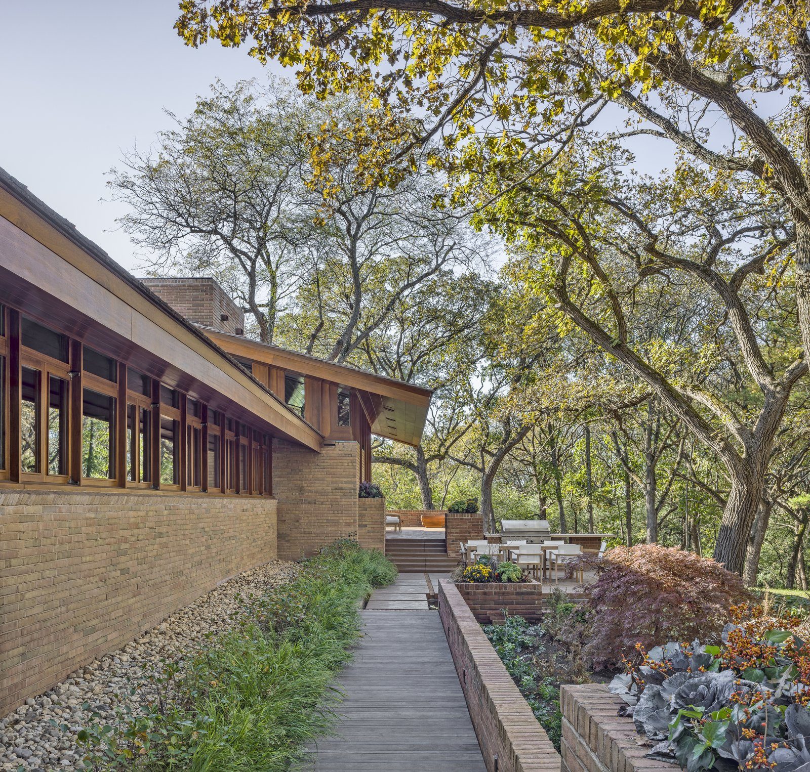 After: Fredrick House by Eifler and Associates Architects Terrace